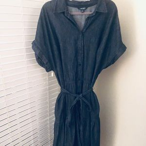 Polo Ralph Lauren Denim Fit & Flare Dress